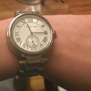 Michael Kors Accessories - Michael Kors Women's MK5866 Skylar Silver Watch